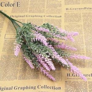 Image 5 - Romantic Provence decoration lavender flower silk artificial flowers grain decorative Simulation of aquatic plants
