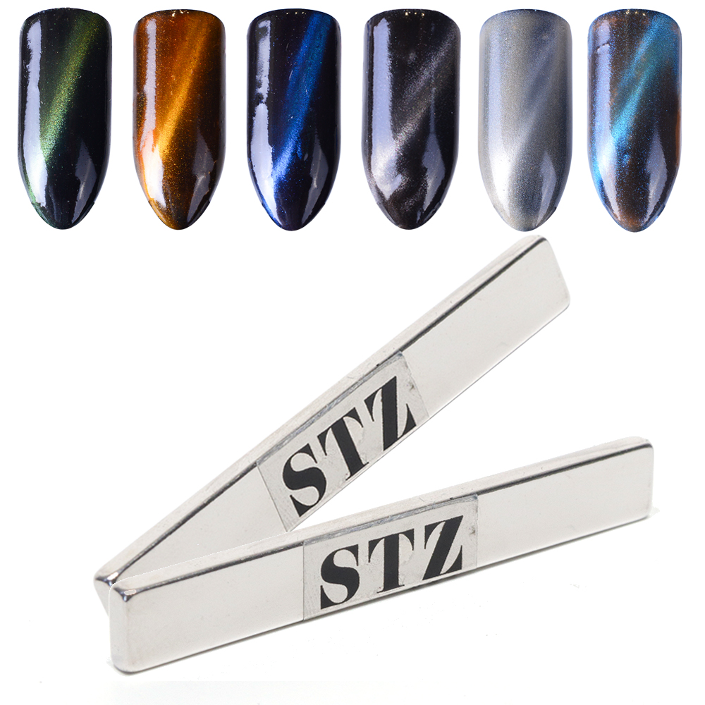 1pcs Super Strong Nail Art Magnet Stick 3D Magic Effect Cat Eye For Nail Gel Polish Varnish Magnetic Plate Manicure Tools JI556