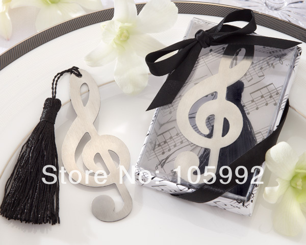 Exquisite Wedding Gift Ideas Music Notation Bookmarks With Tassels