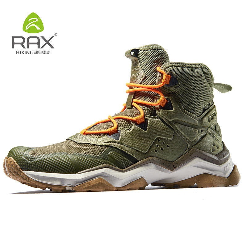 Rax Mens Breathable Hiking Shoes Hiking Boots Summer Trekking Shoes Walking Outdoor Sneakers Climbing Mountain Boots Zapatillas 2018 hiking boots 2017rax spring summer hiking shoes men breathable outdoor 3 8women antiskid walking shocking offroad climbing