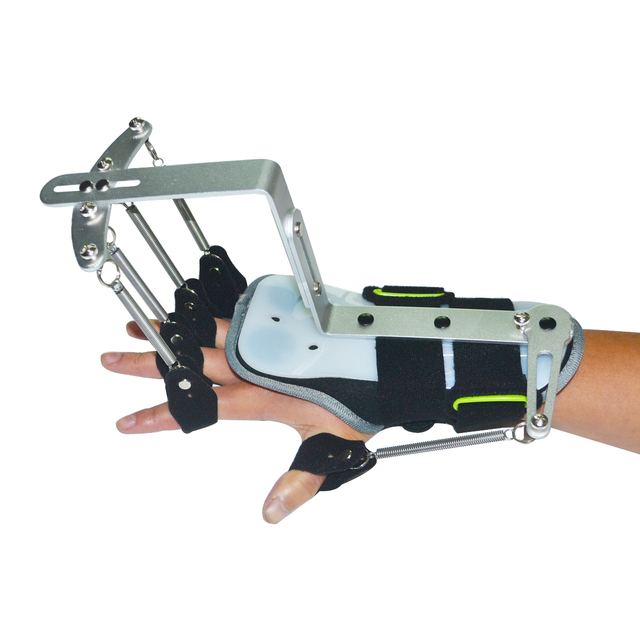 New Version Finger & Wrist Orthotics Exerciser Physiotherapy Rehabilitation Dynamic Wrist Support Brace For Hemiplegia Patien
