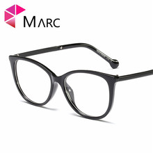 MARC Women Brand Cat Eye Eyeglasses Frame Fashion Trend Optical Glasse Retro Glasses Transparent glasses 95169