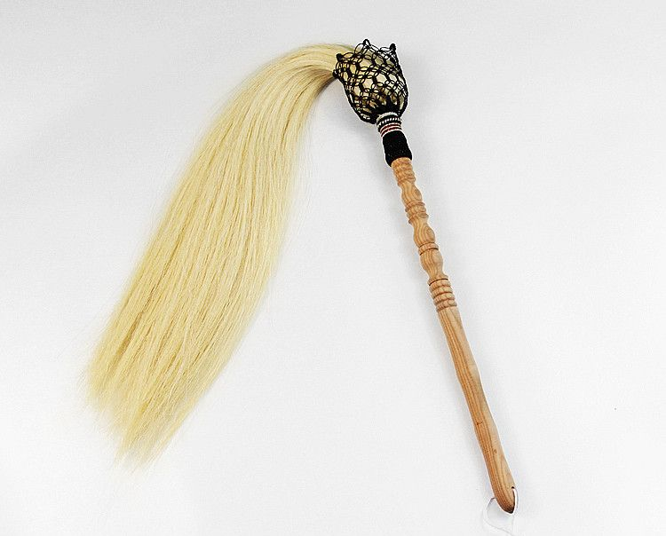 Real Horsetail Whisk Daoist Martial Arts Fu Chen 5