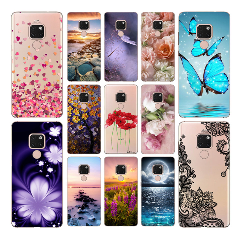 Goterfly silicone case For Huawei mate 20X 7.2Case mate 20 Pro 6.39 Animal cute protective phone case For Huawei mate 20 6.53