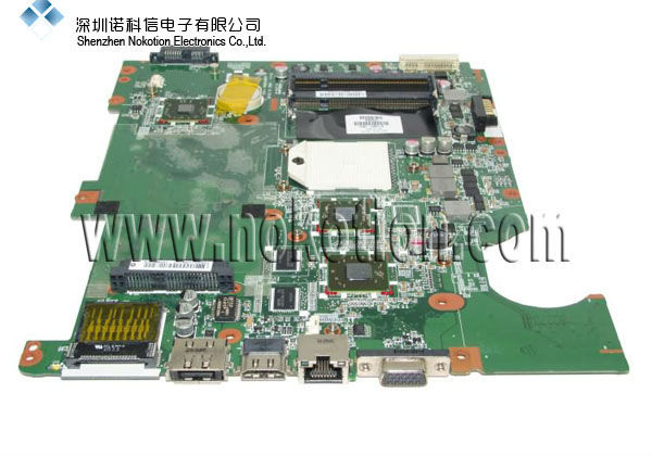 NOKOTION DA00P8MB6D0 577067-001 FOR HP CQ61 laptop motherboard series DDR2 with ATI Graphic card Mainboard FULL TESTED 416903 001 laptop motherboard for hp compaq nx8220 nc8230 series intel 915pm with graphics card ati 9800 ddr2 free shipping
