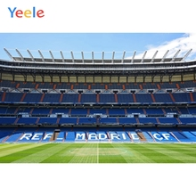 Yeele Football Field Soccer Match Real Madrid CF Party Photography Backgrounds Customized Backdrops For Photo Studio