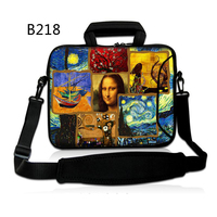 Mona Lisa Painting 14 15 15 6 Notebook Laptop Messenger Bag For Dell HP ENVY 14