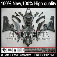 Body Body For YAMAHA YZFR6 06 07 YZF 600 ALL Flat Black YZF R 6 YZF600