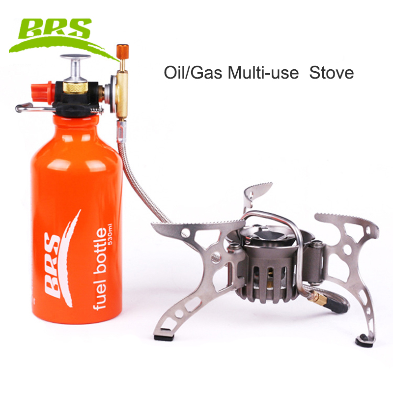 Free Shipping Oil/Gas Multi-Use Stove Cooking Stove Camping Stove Portable and Lightweight BRS-8 цена