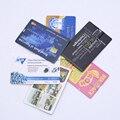 Fotografía de la boda Regalo Personalizado Tarjeta de Crédito Usb Flash Drive LOGOTIPO Personalizado De Marca de la Empresa de Propaganda 4 gb-32 gb Usb2.0