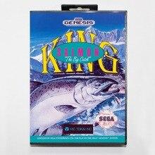 16 bit Sega MD game Cartridge with Retail box – King Salomon The Big Catch game cart for Megadrive for Genesis system