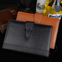 High quality PU leather A5 25K notebooks stationery fine office school personal agenda organizer diary weekly planner gift 1287B