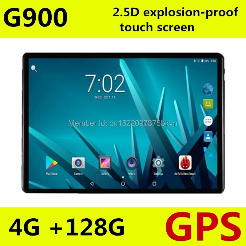 LSKDZ Nouvelle 10.1 pouce Tablette PC MTK8752 Octa Core 4 gb RAM 128 gb ROM Android 7.0 3g 4g 1920*1200 2.5D Écran Tablette 10.1
