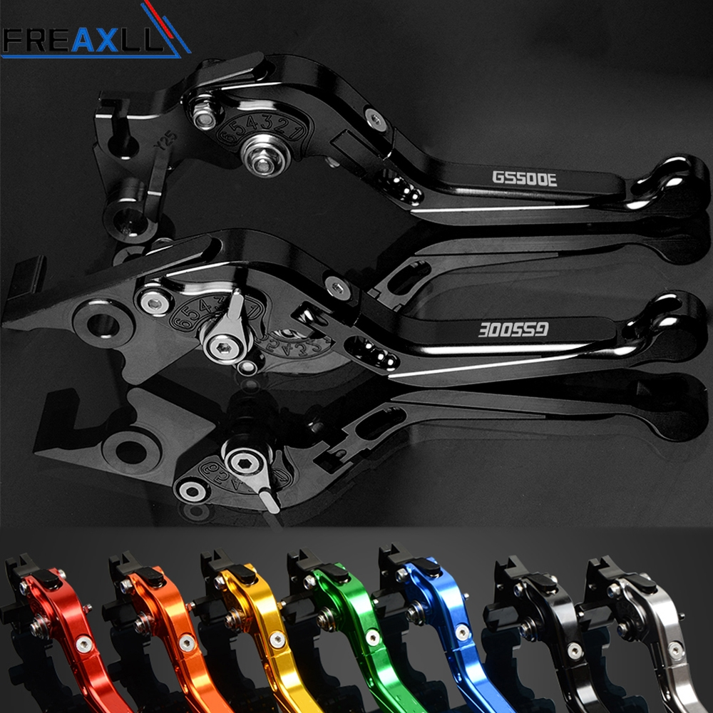 For Suzuki GS500E GS500 E GS 500 E 1994 1998 CNC Motorbike Levers Motorcycle Brake Clutch Levers Foldable Extendable Adjustable in Levers Ropes Cables from Automobiles Motorcycles