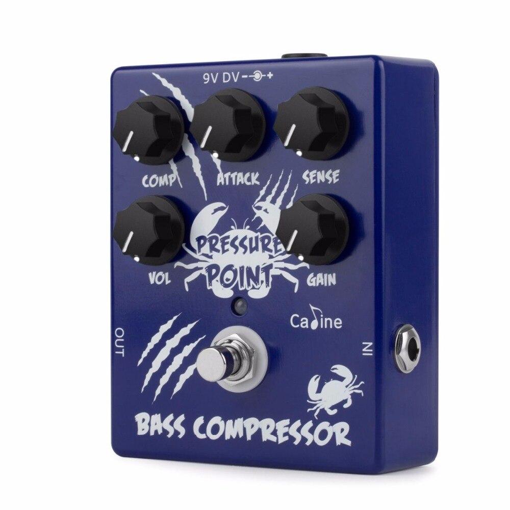 Caline CP-45 Point de Pression Basse Compresseur Guitare Pédale D'effet OpticalCompressor Pédale Effet Guitare pédale guitare Pièces