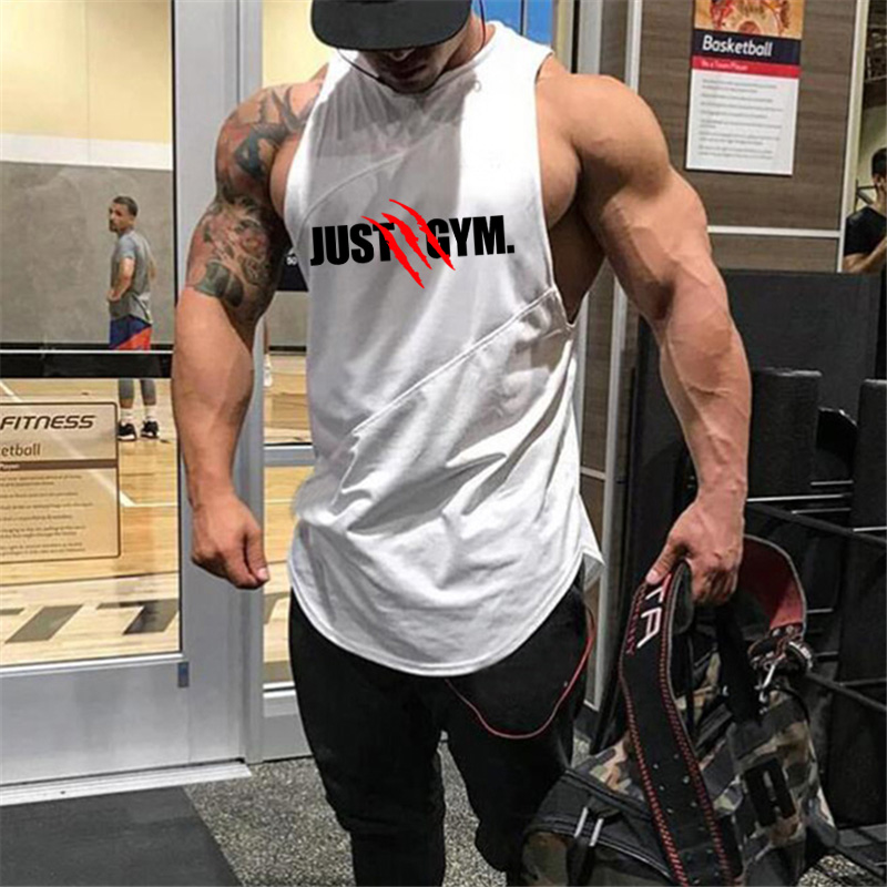 Muscleguys Brand gyms clothing cotton patchwork mesh vest bodybuilding stringer   tank     top   mens fitness singlet sleeveless shirt