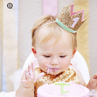 OL Baby Birthday Crowns Headwear Beautiful Girl And Women Crown For Birthday Party Dress Up Lovely