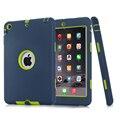 Для iPad мини 1/2/3 Retina Дети Baby Safe Броня Противоударный Heavy Duty Силиконовый Футляр Чехол Защитная Пленка + Стилус
