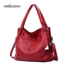 где купить New Women Handbags PU Leather Shoulder Bag Versatile Tote Bags Elegance Messenger Bags Female Luxury bolsas feminina sac a main по лучшей цене