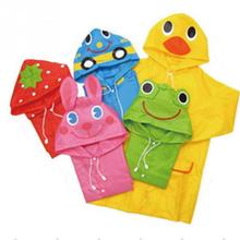 Brand New and High Quality Rain Jacket Children Waterproof Raincoat / Rainsuit children Waterproof Raincoat Animals 5Colors