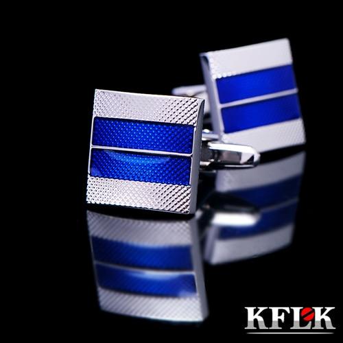 KFLK 2020 럭셔리 셔츠 커프스 망 선물 브랜드 커프스 - 패션 쥬얼리 - 사진 1