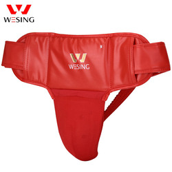 Wesing Sanda Groin Guard for Men with Large Size Detachable Groin Protector for Martial Arts Jock Strap for Training