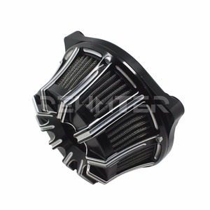 Image 2 - Air Cleaner Filter CNC Crafts Inverted Big Sucker For Harley Sportster 883 1200 Softail Dyna Touring Road King