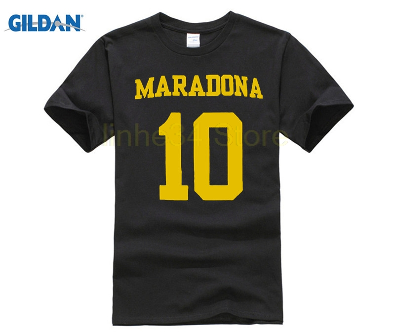 reputable site 736f7 0b41d US $9.23 23% OFF Diego Maradona Boca Juniors Legend Hero T Shirt-in  T-Shirts from Men's Clothing on Aliexpress.com   Alibaba Group