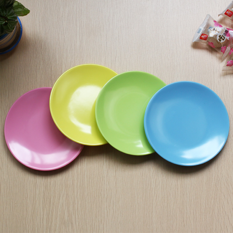 Aliexpress Com Buy Plastic Melamine Solid Color Small Dishes Dishes Plates Modern Kitchen Western Tableware Dinner Plate Fruit Snack Food Plates From
