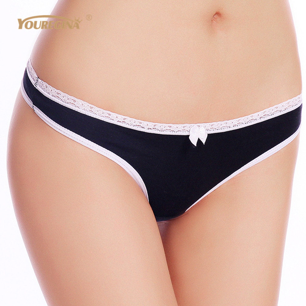 YOUREGINA Women G String Thongs Low Rise Tanga Briefs Sexy Panties Ladies' Seamless Lingerie Female Underwear Strings 1 piece