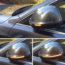 For Audi Q5 SQ5 8R Q7 4L Dynamic Blinker LED Turn Signal Side Mirror Lights indicator 2010 2011 2012 2013 2016