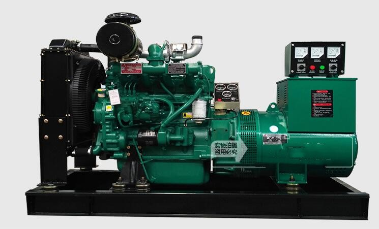 50kw/62.5kva Chinese diesel generator with brush alternator with weifang Ricardo diesel engine for home power