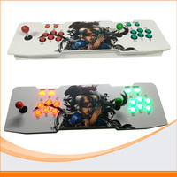 2017 NEWEST Double Player Arcade Console Family Professional Classic Video Game Machine HDMI VGA Out Video