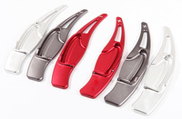 2pcs High quality Aluminum Steering Wheel Shift Paddle Shifter Extension For Honda Civic