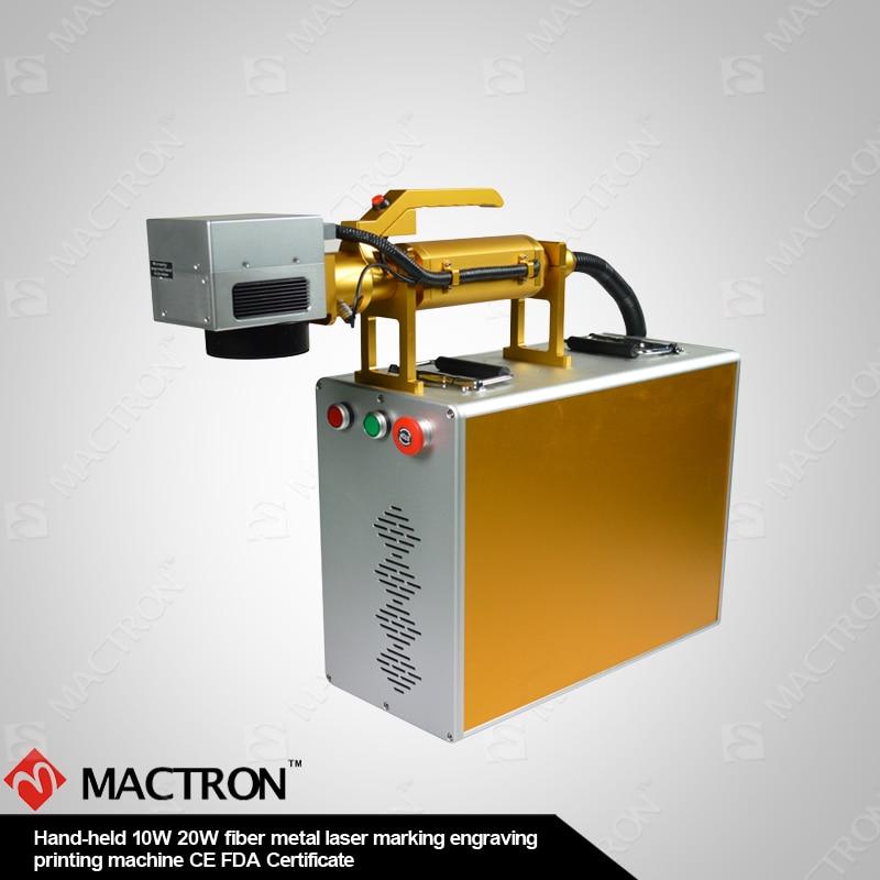 Desktop fiber lasermarkering 20W DIY metalen lasergravure, mini - Houtbewerkingsmachines - Foto 3