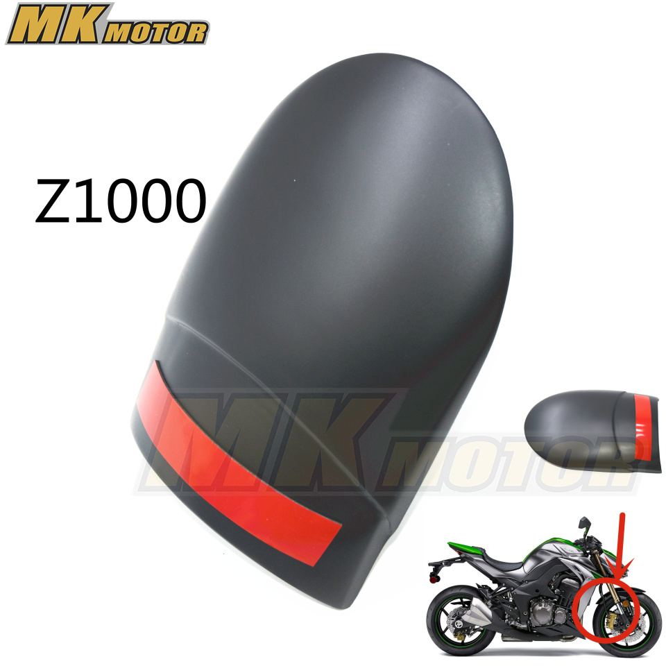 Free shipping Motorcycle Front Mudguard Fender Rear Extender Extension For Kawasaki Kawasaki Z1000 z1000 NINJA1000 motorcycle front