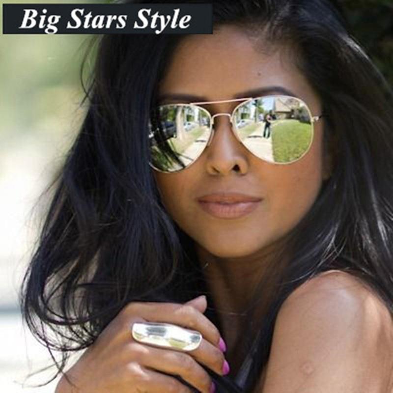 Luxury Aviator Sunglasses Men Women Brand Designer Retro Vintage Driving Sun Glasses For Men Female Male Sunglass Mirror Glasses