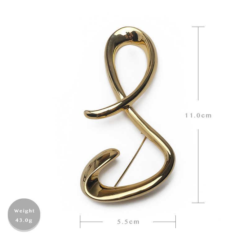 Бутик amorita 8 модельная дизайнерская булавка личность преувеличенная простая модная брошь