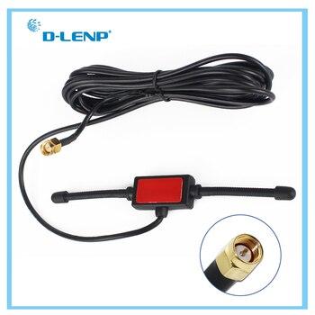 Dlenp дальность 433 МГц антенна 433 МГц патч Антенна Ham радио SMA папа с кабелем 3 м