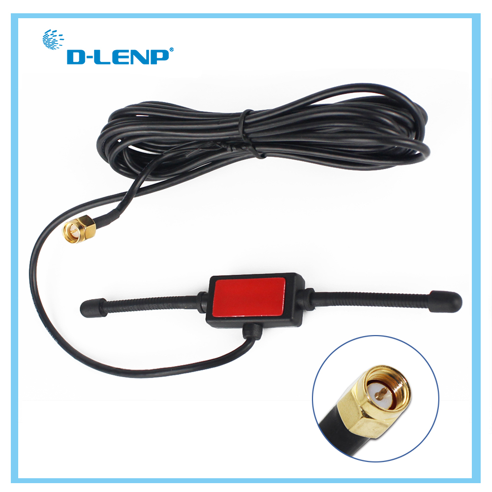 Dlenp Long Range 433 MHz Antenna 433mhz Patch Antenna Ham Radio SMA Male With 3M Cable