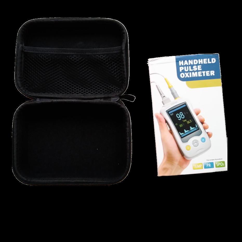 Pediatric Oximeter Medical Fingertip Oximetro Handheld Pulse SPO2 Blood Oxygen De Dedo for Children Portable Package