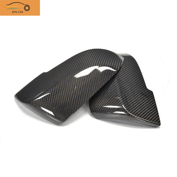For 5 Series Carbon Fiber Replacement Side Mirror Cover for BMW F10 F11  2014 2015 2016