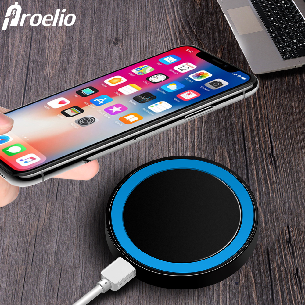 Proelio Mini Qi Wireless Charger USB Charge Pad Charging