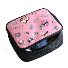 Bolsa de viaje Cubos de almacenamiento Bolsa Bolsa de transporte Bolsas de viaje clasificación de ropa unisex Organizar bolsa durable Alta capacidad