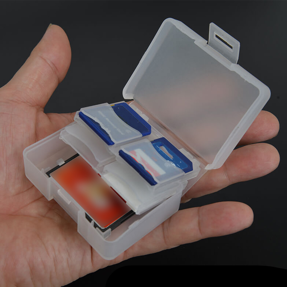 Storage Seal Carrying Pouch 9 Slots CF Holder Micro  Potable Memory