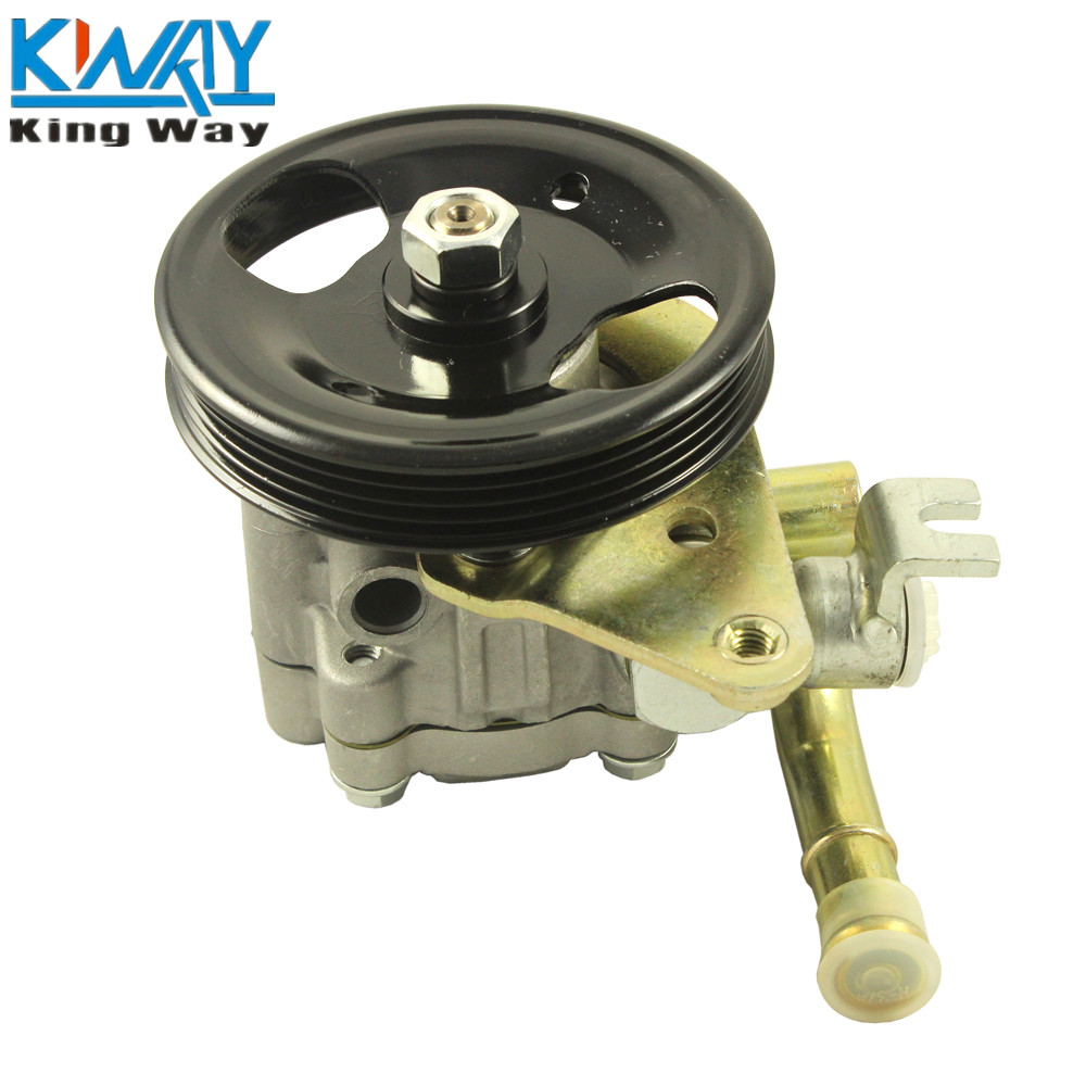 Free shipping king way power steering pump with pulley for nissan maxima infiniti i30