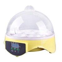 YZ9-7 Free Shipping ! 7 Eggs Intelligent temperature control 0.01'C Precise induction Mini Hatchery Egg Incubator Hatcher UK