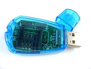Sim card cdma card reader writer serial port card reader backup device computer accessories