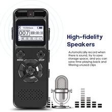 High Definition Dictaphone Digital Voice Recorder Registrar Audio Video Sound