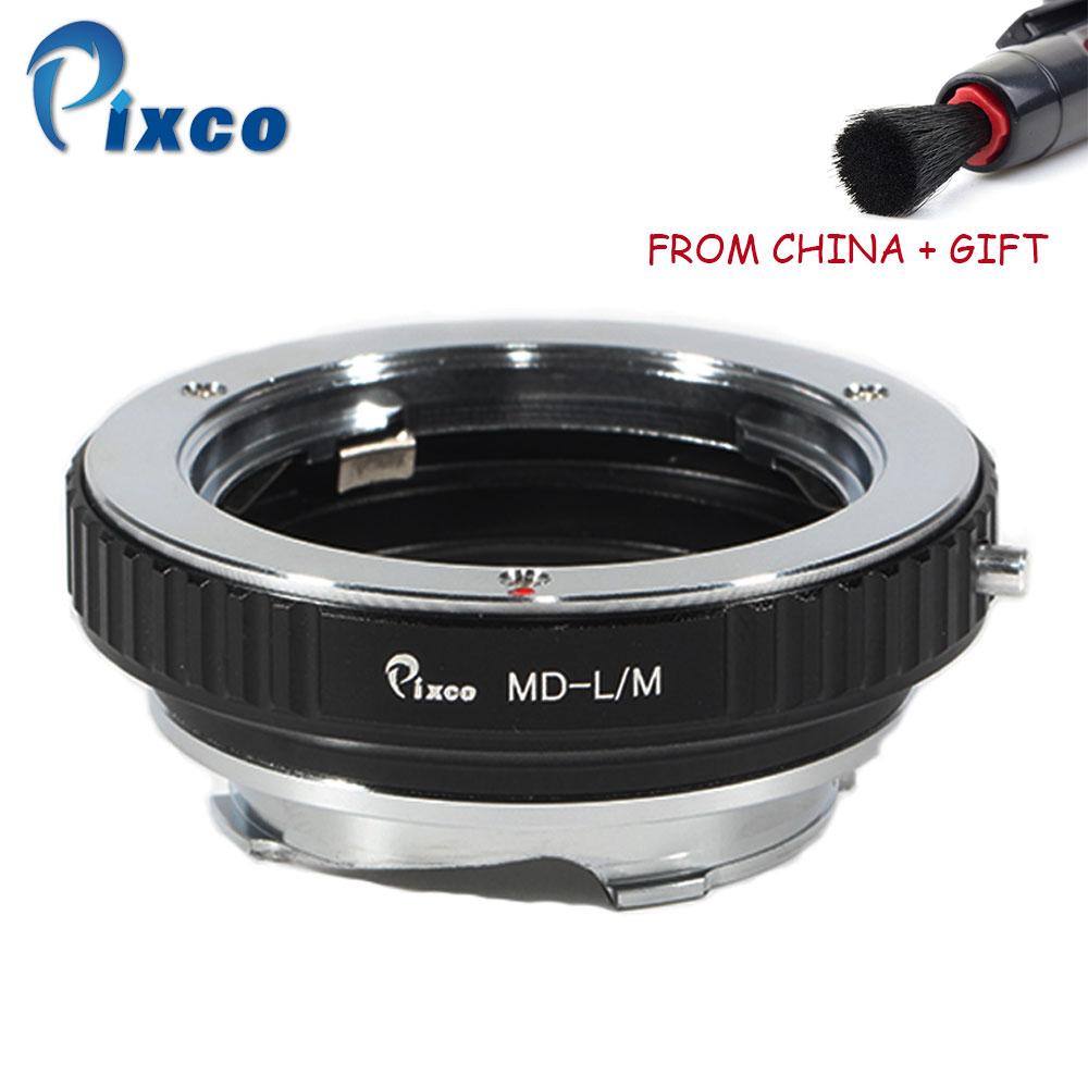 Pixco adaptateur d'objectif pour MD-L/M adaptateur d'objectif pour lentille Minolta MD vers Leica M10-D M10-P M10 Typ 262 Type 240 Monochrom Typ 246